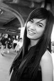ασιατικές όμορφες χαμογ& στοκ εικόνα