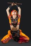 ασιατική γυναίκα ασπίδων &c Στοκ φωτογραφία με δικαίωμα ελεύθερης χρήσης