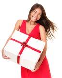 ασιατική γυναίκα δώρων Στοκ Εικόνες