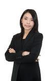 Ασιατική γυναίκα Στοκ Φωτογραφία