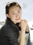 ασιατική γυναίκα πορτρέτ&omicr Στοκ φωτογραφία με δικαίωμα ελεύθερης χρήσης