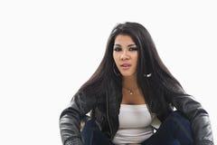 Ασιατική γυναίκα στον περιστασιακό σύγχρονο ιματισμό Στοκ εικόνα με δικαίωμα ελεύθερης χρήσης