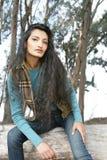 ασιατική γυναίκα συνεδ&rho Στοκ Εικόνες