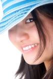 ασιατική ελκυστική γυναίκα Στοκ Φωτογραφίες