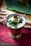Ασιατική εμβύθιση Hummus στοκ εικόνα