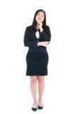 Ασιατική επιχειρησιακή γυναίκα Στοκ Εικόνα