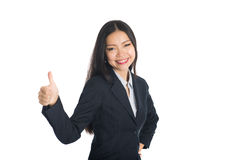 Ασιατική θηλυκή επιχειρησιακή γυναίκα Στοκ φωτογραφία με δικαίωμα ελεύθερης χρήσης