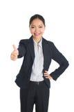 Ασιατική θηλυκή επιχειρησιακή γυναίκα Στοκ φωτογραφίες με δικαίωμα ελεύθερης χρήσης