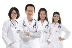 ασιατική ιατρική ομάδα Στοκ Εικόνα