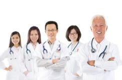Ασιατική ιατρική ομάδα Στοκ Φωτογραφία