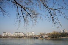 Ασιατική Κίνα, Πεκίνο, πάρκο Zizhuyuan Στοκ Εικόνες
