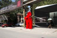 Ασιατική Κίνα, Πεκίνο, περιοχή 798 τέχνης, περιοχή τέχνης DADï ¼  Dashanzi Στοκ φωτογραφία με δικαίωμα ελεύθερης χρήσης