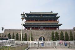 Ασιατική Κίνα, Πεκίνο, πύλη Zhengyang, πύλη, Στοκ φωτογραφία με δικαίωμα ελεύθερης χρήσης