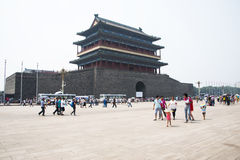 Ασιατική Κίνα, Πεκίνο, πύλη Zhengyang, πύλη, Στοκ φωτογραφίες με δικαίωμα ελεύθερης χρήσης