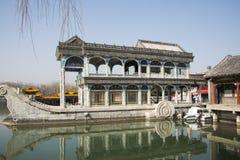 Ασιατική Κίνα, Πεκίνο, το θερινό παλάτι, κυνόδοντας Shi στοκ φωτογραφίες με δικαίωμα ελεύθερης χρήσης