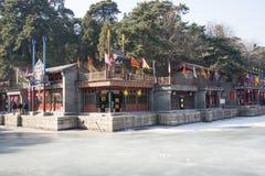 Ασιατική Κίνα, Πεκίνο το θερινό παλάτι, οδός Suzhou Στοκ εικόνες με δικαίωμα ελεύθερης χρήσης