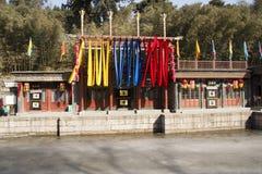 Ασιατική Κίνα, Πεκίνο το θερινό παλάτι, οδός Suzhou Στοκ Εικόνα