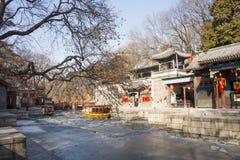 Ασιατική Κίνα, Πεκίνο το θερινό παλάτι, οδός Suzhou Στοκ Εικόνες