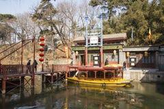 Ασιατική Κίνα, Πεκίνο το θερινό παλάτι, οδός Suzhou Στοκ Φωτογραφίες