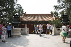 Ασιατική Κίνα, Πεκίνο, το θερινό παλάτι, YUN Pai dian Στοκ Φωτογραφίες