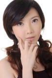 ασιατική κομψή κυρία στοκ εικόνες