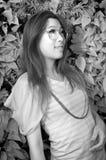 Ασιατική κυρία γοητείας Στοκ εικόνα με δικαίωμα ελεύθερης χρήσης