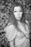 Ασιατική κυρία γοητείας Στοκ εικόνες με δικαίωμα ελεύθερης χρήσης