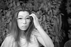 Ασιατική κυρία γοητείας Στοκ Φωτογραφίες