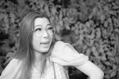 Ασιατική κυρία γοητείας Στοκ Εικόνες