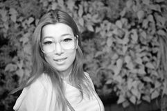 Ασιατική κυρία γοητείας Στοκ φωτογραφία με δικαίωμα ελεύθερης χρήσης