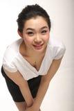 ασιατική κυρία Στοκ Φωτογραφία
