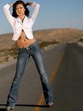 ασιατική μοντέρνη γυναίκα στοκ εικόνα με δικαίωμα ελεύθερης χρήσης