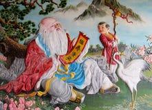 Ασιατική μυθολογική εικόνα Στοκ εικόνες με δικαίωμα ελεύθερης χρήσης