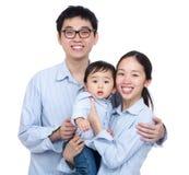 ασιατική οικογένεια ευτυχής στοκ φωτογραφία με δικαίωμα ελεύθερης χρήσης