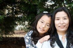 ασιατική οικογένεια Στοκ φωτογραφία με δικαίωμα ελεύθερης χρήσης