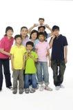 ασιατική οικογένεια Στοκ Εικόνα