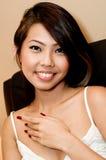 Ασιατική ομορφιά στοκ εικόνα με δικαίωμα ελεύθερης χρήσης