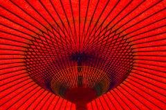 ασιατική ομπρέλα Στοκ φωτογραφίες με δικαίωμα ελεύθερης χρήσης