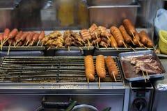 ασιατική οδός τροφίμων Στοκ Εικόνα
