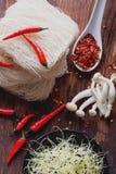 Ασιατική προετοιμασία μεσημεριανού γεύματος Στοκ φωτογραφία με δικαίωμα ελεύθερης χρήσης