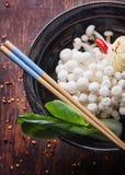 Ασιατική προετοιμασία μεσημεριανού γεύματος Στοκ Φωτογραφίες