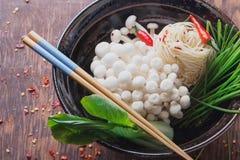 Ασιατική προετοιμασία μεσημεριανού γεύματος Στοκ Εικόνες
