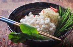 Ασιατική προετοιμασία μεσημεριανού γεύματος Στοκ εικόνες με δικαίωμα ελεύθερης χρήσης