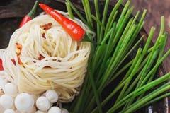 Ασιατική προετοιμασία μεσημεριανού γεύματος Στοκ φωτογραφίες με δικαίωμα ελεύθερης χρήσης