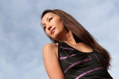 ασιατική προκλητική γυναίκα Στοκ φωτογραφία με δικαίωμα ελεύθερης χρήσης