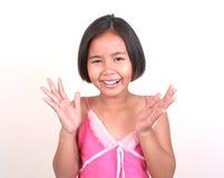 ασιατική σειρά κοριτσιών Στοκ φωτογραφία με δικαίωμα ελεύθερης χρήσης