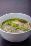 Ασιατική σούπα στοκ εικόνες