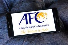 Ασιατική συνομοσπονδία ποδοσφαίρου, afc λογότυπο Στοκ εικόνα με δικαίωμα ελεύθερης χρήσης