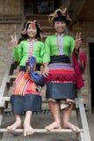 ασιατική ταϊλανδική γυναί& Στοκ φωτογραφία με δικαίωμα ελεύθερης χρήσης