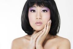 ασιατική όμορφη γυναίκα Στοκ Φωτογραφίες